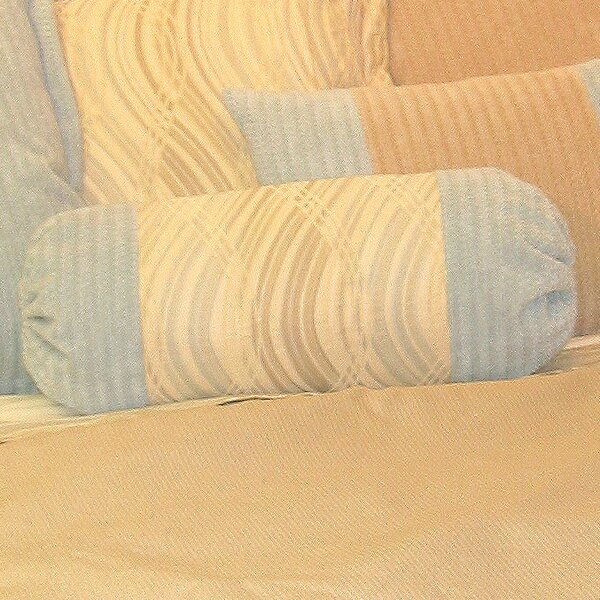 Haven Neckroll Cotton Bolster Pillow by Charister