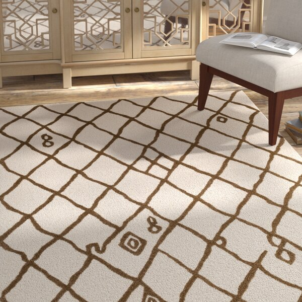 Juergens Hand-Tufted Ivory Area Rug by Bloomsbury Market