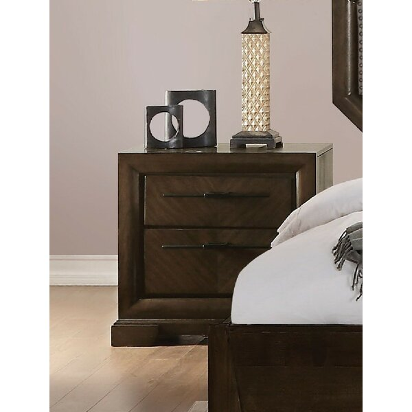 Baver 2 Drawer Nightstand by Canora Grey