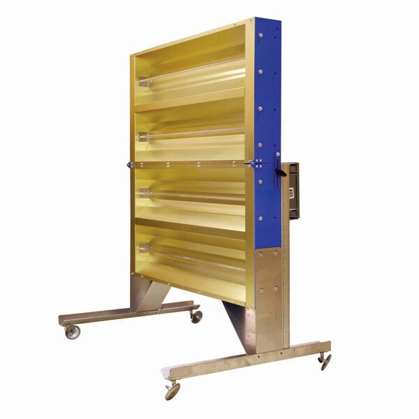 4,800 Watt Portable Electric Infrared Panel Heater by TPI