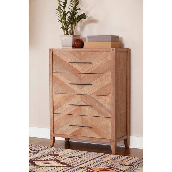 Tawny 4 Drawer Standard Dresser by Foundry Select