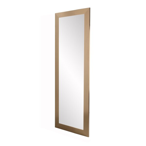 Ferland Champagne Full Length Mirror by Ebern Designs