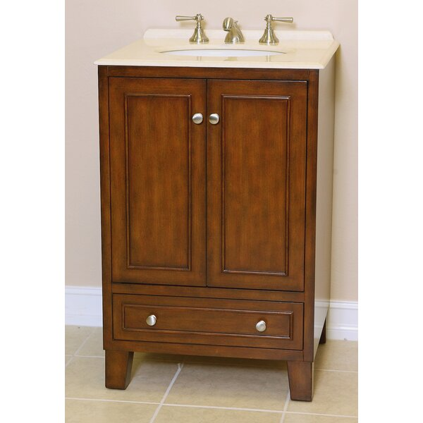Mickey 24 Single Bathroom Vanity Set by B&I Direct Imports