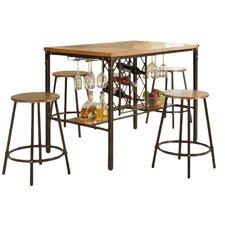bouldin 5 piece pub table set