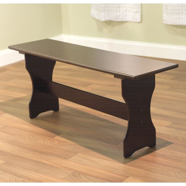 Parsonsfield Nook Dining Wood Bench by Alcott Hill Alcott Hill