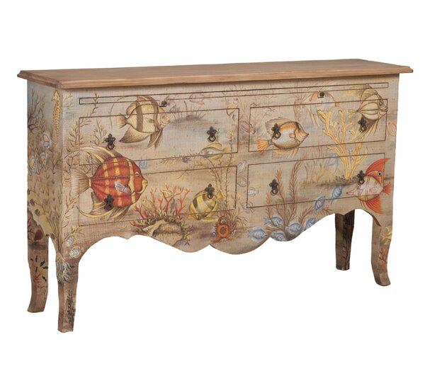 Stanley 4 Drawer Accent Chest by Bay Isle Home