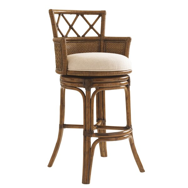 Bali Hai 30 Swivel Bar Stool by Tommy Bahama Home