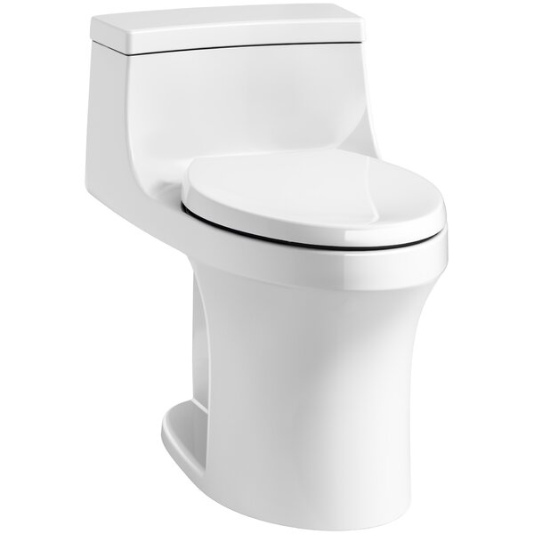 San Souci Comfort Height 1.28 GPF Elongated One-Piece Toilet by Kohler