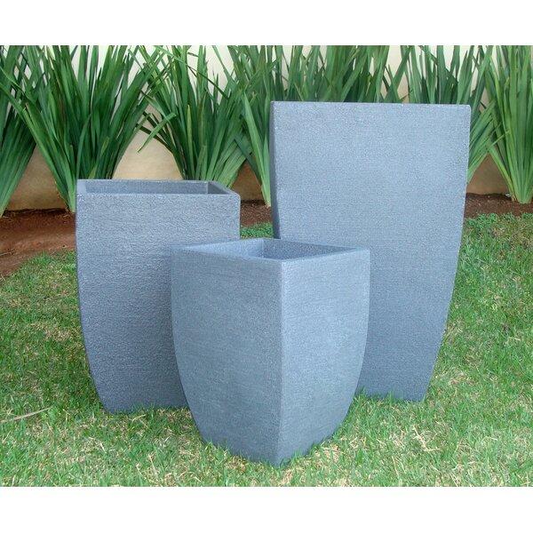 Mccaslin Modern Square Plastic Pot Planter by Winston Porter