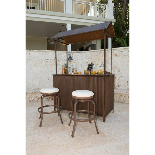 Tiki 3 Piece Bar Set by Panama Jack Outdoor