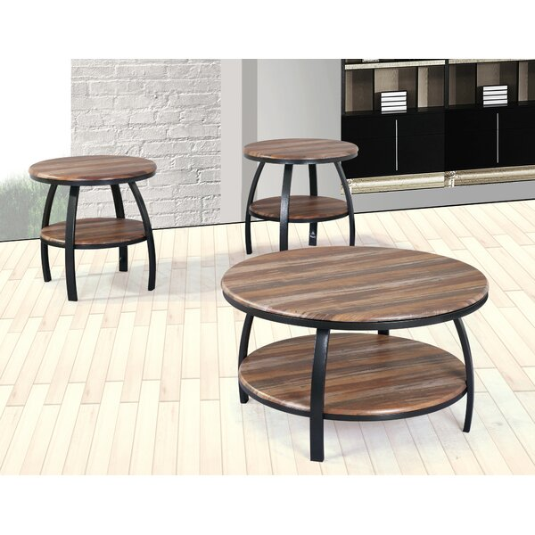Mccormick 3 Piece Coffee Table Set by Union Rustic