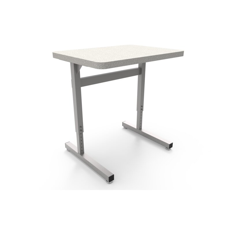 WB Manufacturing UneT Wood Adjustable Height Training Table Wayfair - Adjustable height training table