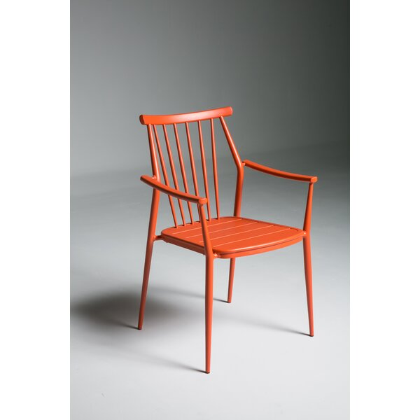 Chmura Stacking Patio Dining Chair by Brayden Studio Brayden Studio