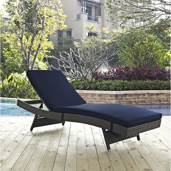 Tripp Chaise Lounge with Cushion by Brayden Studio