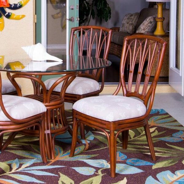 Presley Upholstered Dining Chair (Set of 2) by Bay Isle Home Bay Isle Home