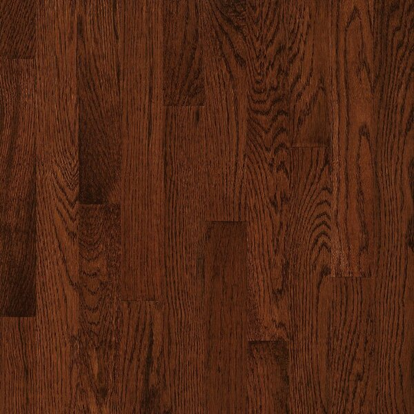 2-1/4 Solid Oak Hardwood Flooring in Low Glossy Sierra by Bruce Flooring