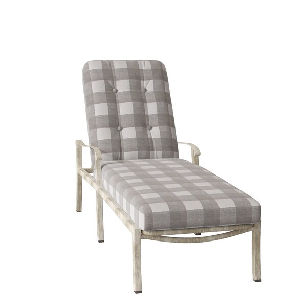 Cortland Reclining Chaise Lounge with Cushion