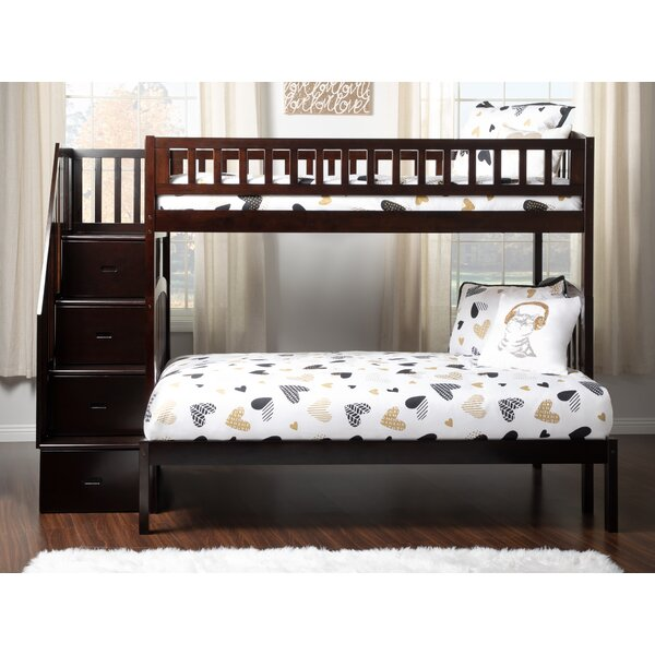 Salem Twin Over Full Bunk Bed with Drawers by Harriet Bee
