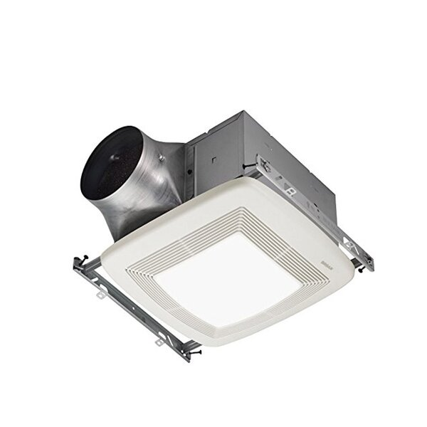 110 CFM Bathroom Fan with Light by Broan