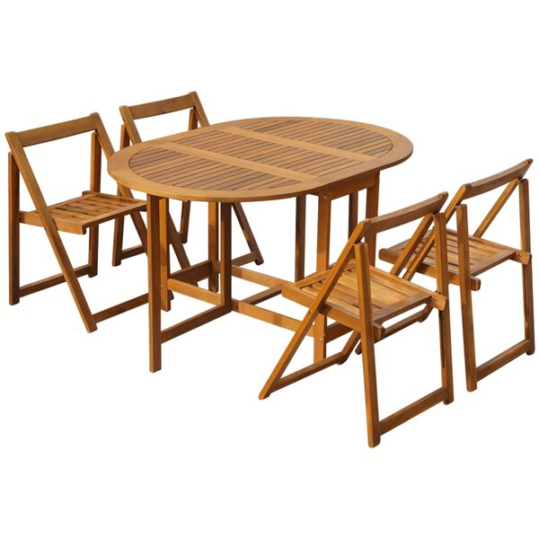 Killingworth 5 Piece Dining Set by Gracie Oaks