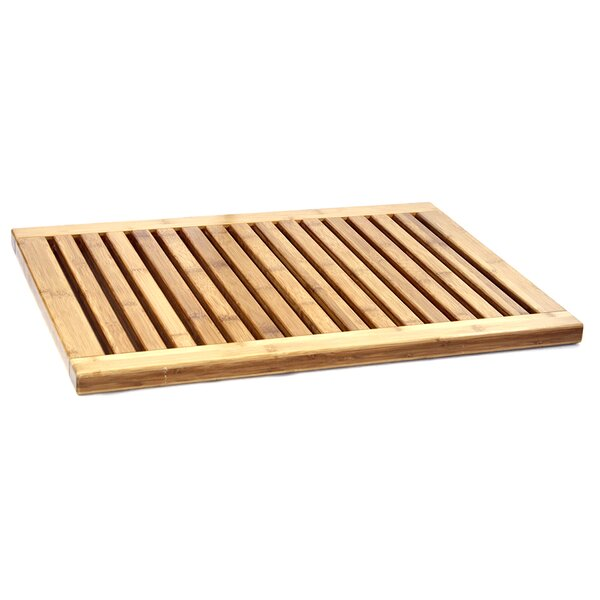 Bamboo Mat Anti Slip Bath Mats (Set of 3) by Tectron