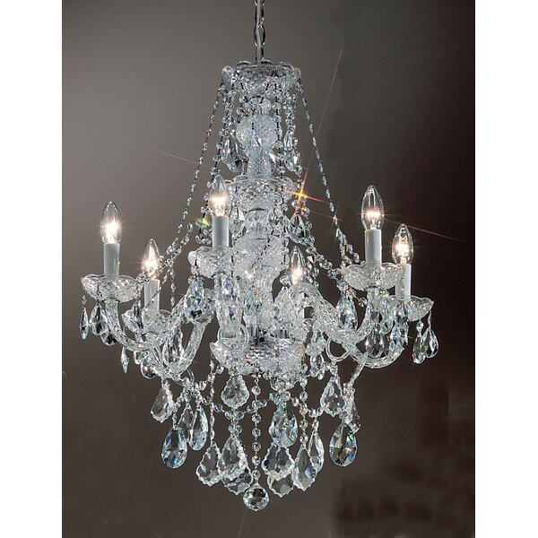 Greig 6-Light Candle Style Chandelier by House of Hampton
