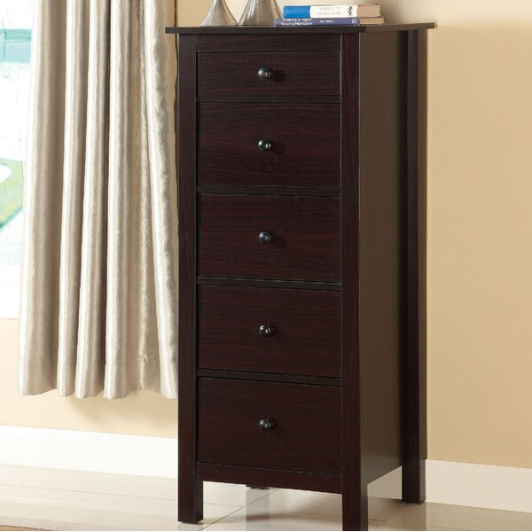 Du Bois 5 Drawer Chest by Charlton Home
