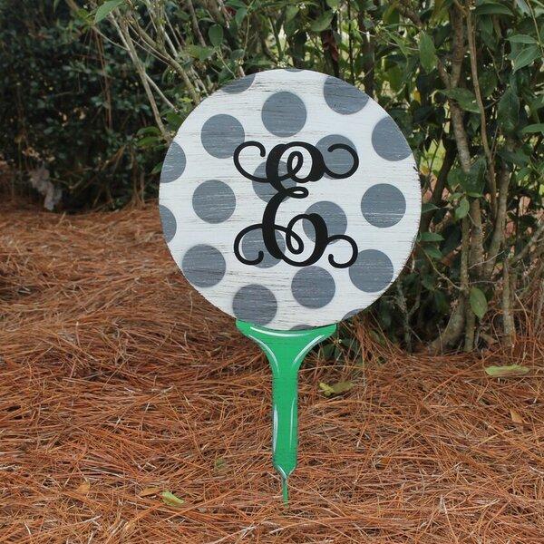 Golf T Yard Garden Stake by Southern Steel Designs