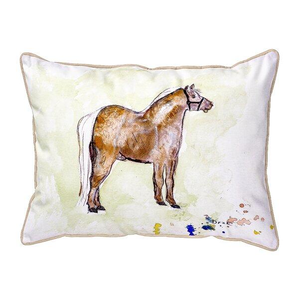 Shetland Pony Indoor/Outdoor Lumbar Pillow