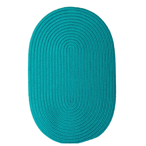 Mcintyre Turquoise Outdoor Area Rug by Winston Porter