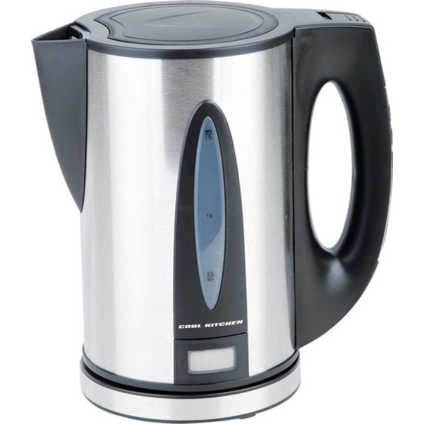 Cordless Stainless Steel Electric Tea kettle by MyCuisina