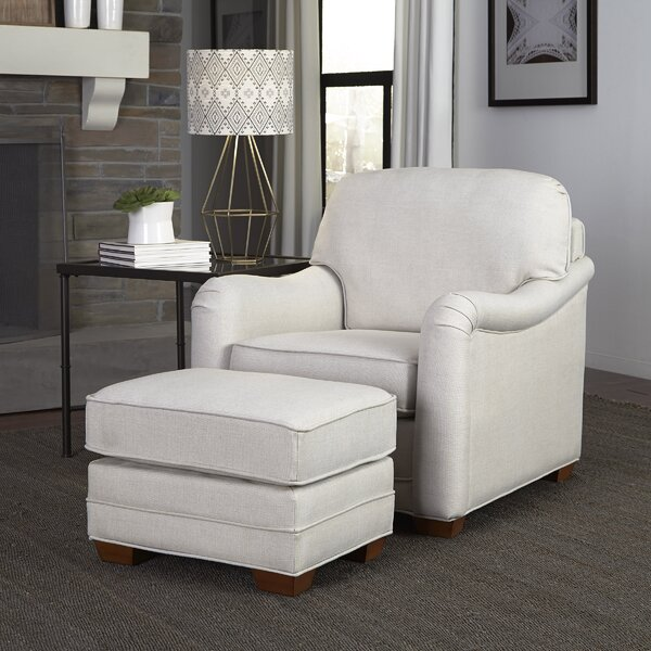 Sheree Armchair and Ottoman by Darby Home Co