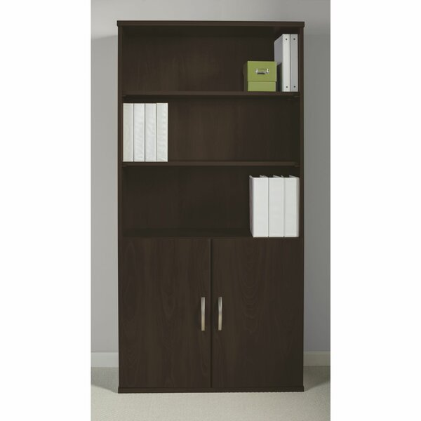 Series C Elite 5 Shelf Standard Bookcase by Bush Business Furniture