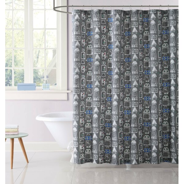 Issac Shower Curtain by Zoomie Kids