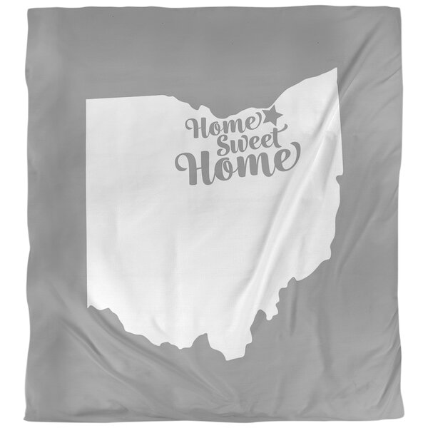 Home Sweet Cleveland Duvet Cover