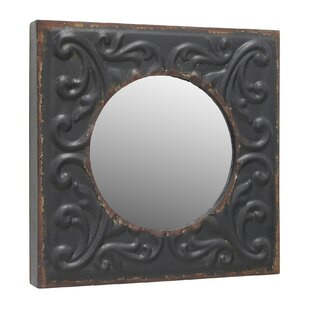 Fleur De Lis Living Coulson Metal Accent Wall Mirror