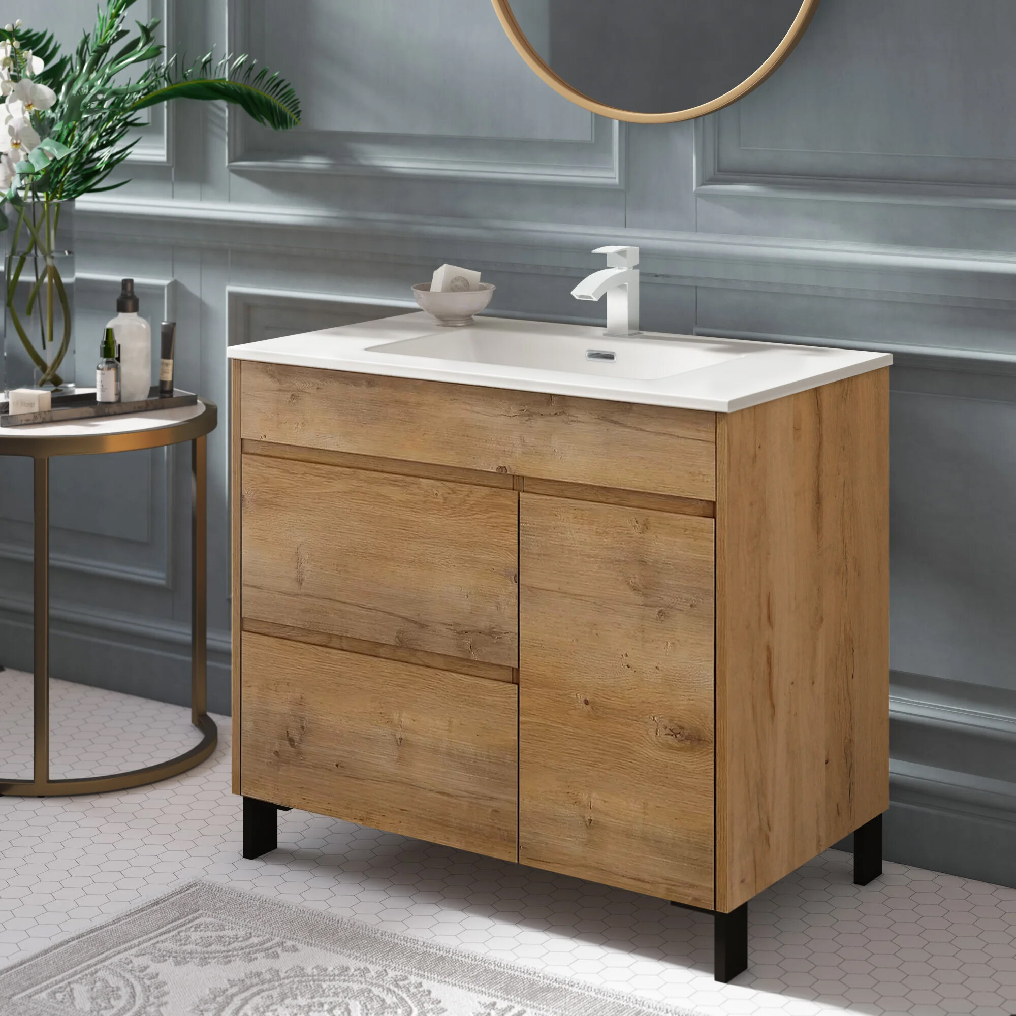 Union Rustic Chumasero 32 Single Bathroom Vanity Set Reviews Wayfair