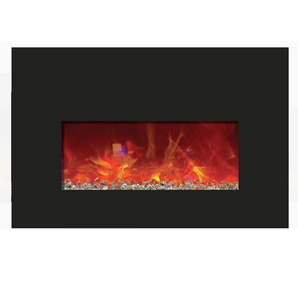 Aragam Wall Mounted Electric Fireplace By Orren Ellis