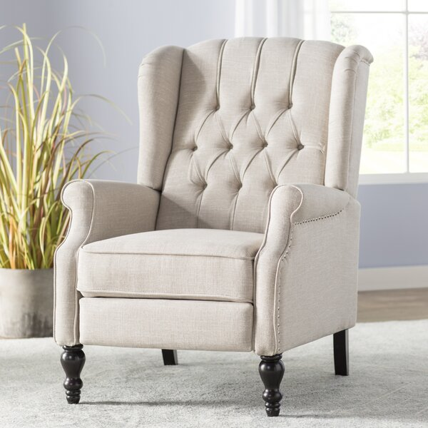 Henley Manual Recliner by Alcott Hill