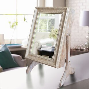 Compare & Buy Halter Tabletop Jewelry Armoire with Mirror ByWinston Porter