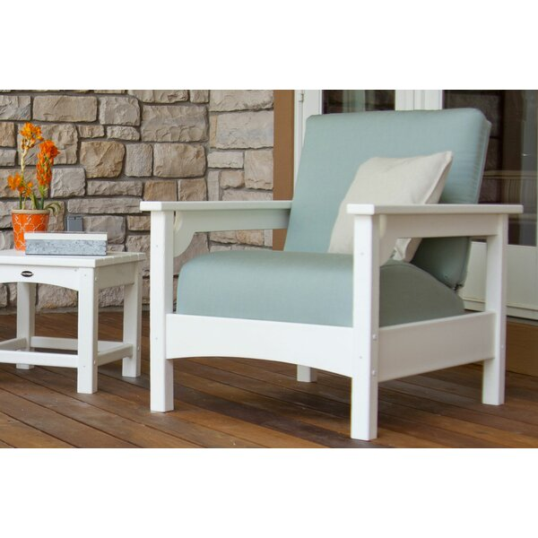 Patio Chair with Cushions by POLYWOOD®