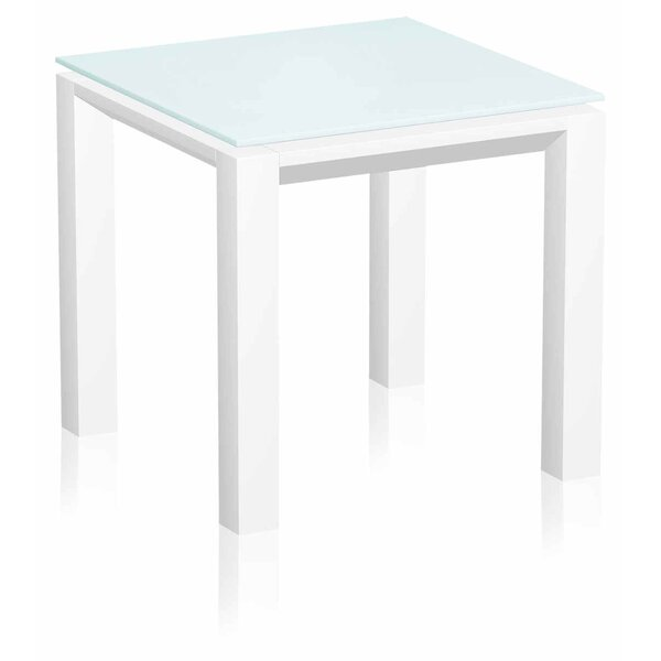 Berard Glass Side Table by UrbanMod