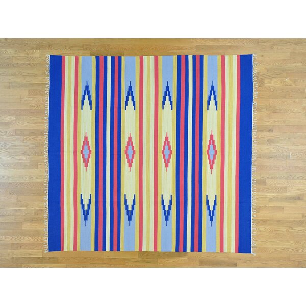 One-of-a-Kind Bierce Killim Handwoven Wool Area Rug by Isabelline