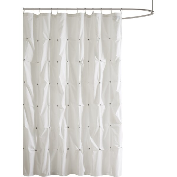 Ellesmere Port Cotton Shower Curtain by The Twille