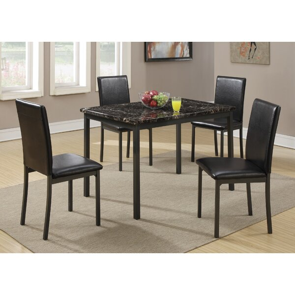 Simental 5 Piece Dining Set by Latitude Run