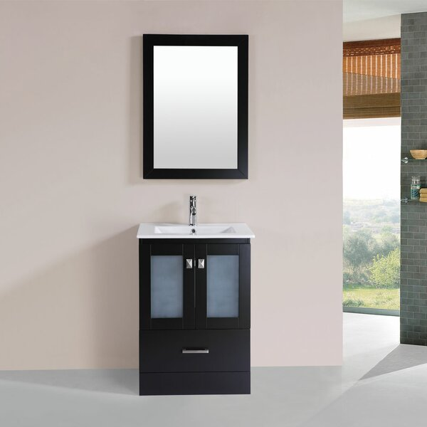 Lapoint 24 Single Modern Bathroom Vanity Set by Latitude Run