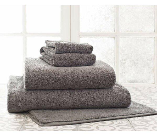 Signature Rectangle 100% Cotton Reversible Bath Rug