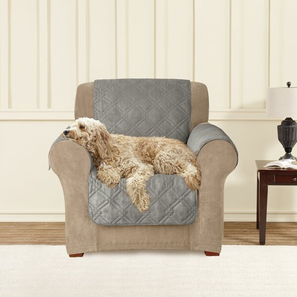 Box Cushion Armchair Slipcover by Sure Fit