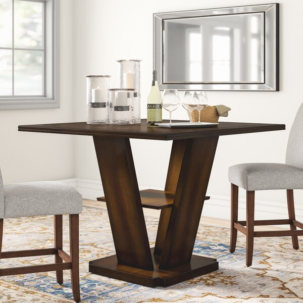 Allenville Counter Height Dining Table by Three Posts Three Posts