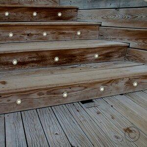 10-tlg. LED Terrassen-/Stufenbeleuchtung 30-flammig